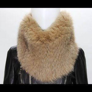 Gucci Fur Snood/Ring/Infinity Scarf